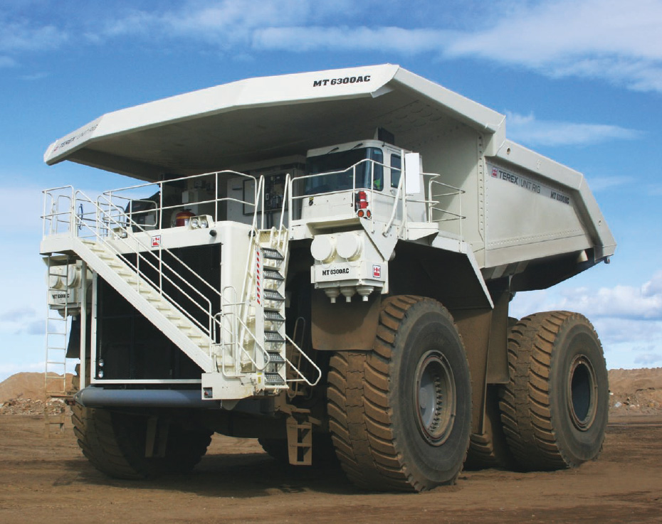 Terex Unit Rig MT 6300AC